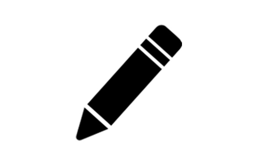 writting icon